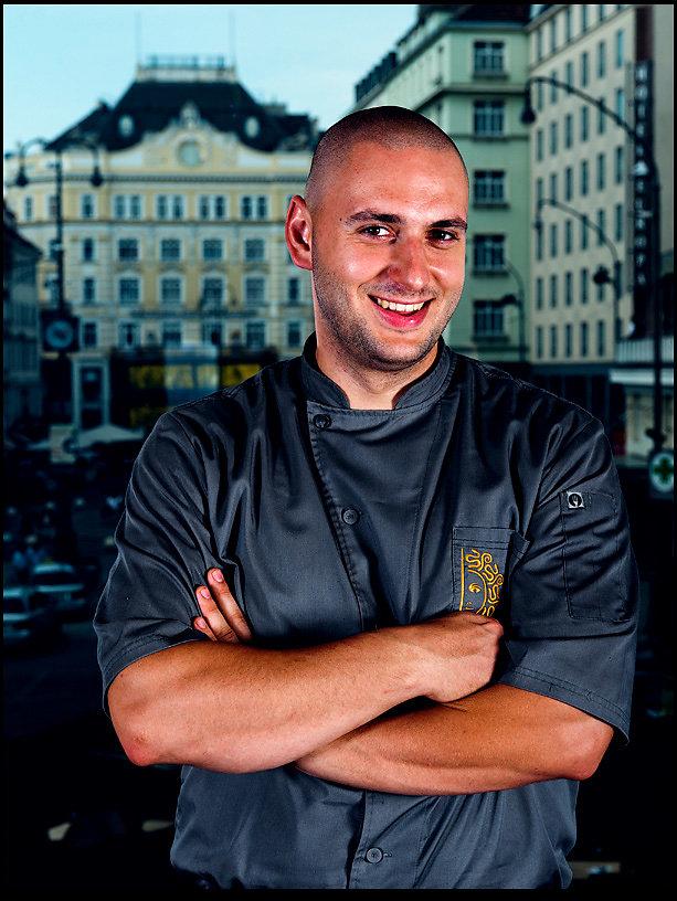 Peter Duransky chief de cuisine Medusa restaurant Wien