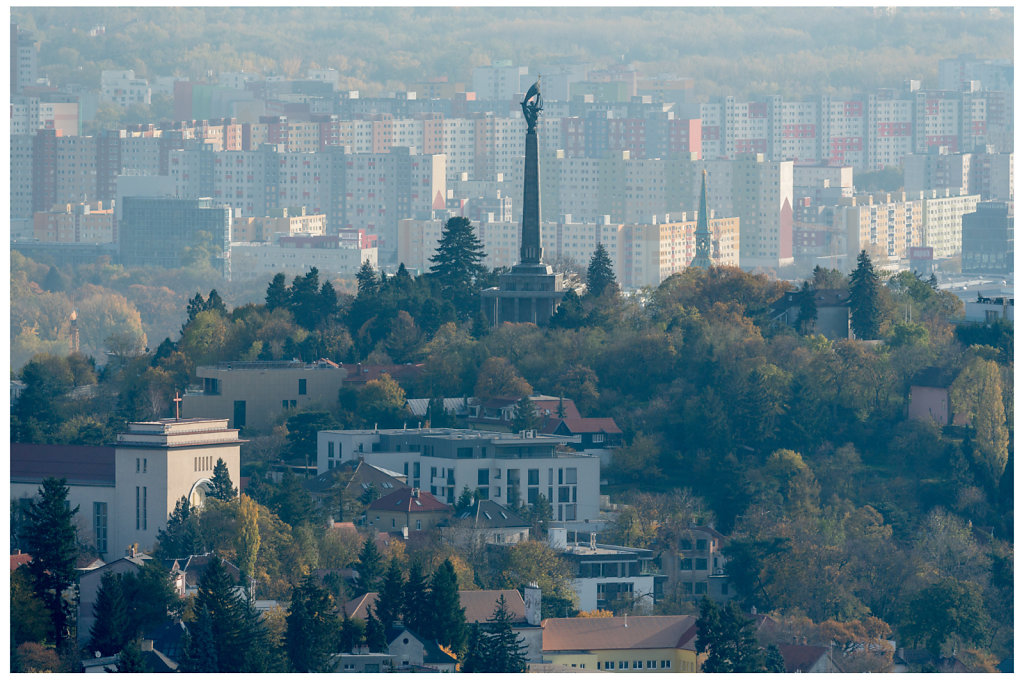 Bratislava - long distance view
